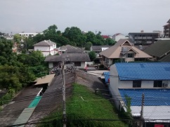 View from my balcony, Chiang Mai