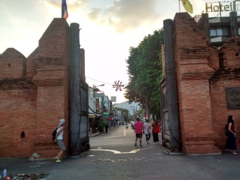Old city gates, Chiang Mai