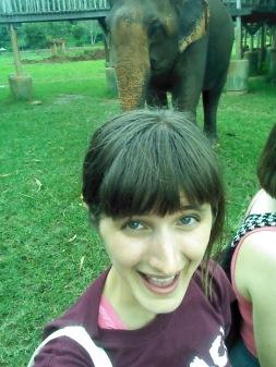 Obligatory elephant selfie