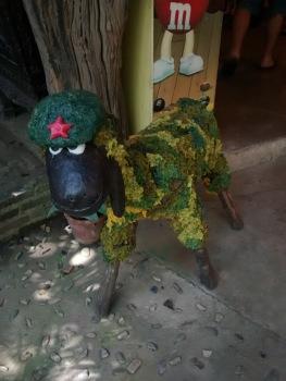 Che Guevara in wax sheep form