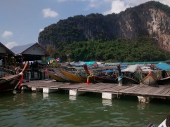 Boats at the Muslim Village