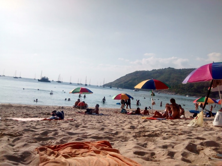 Nai Harn Beach--this picture really doesn't do the experience justice.