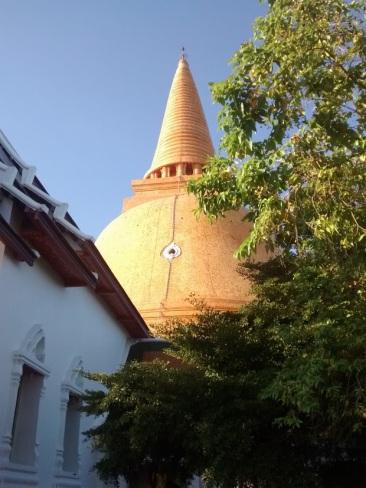 The stupa up close