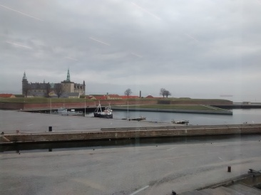 Kronborg Castle from the Elsinore Culture Yard