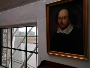A Portrait of Shakespeare with Kronborg in the background