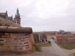 The grounds around Kronborg