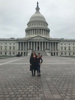 Nicole and me at the United States Capitol, October