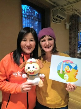 At a VIPKId meet up, March